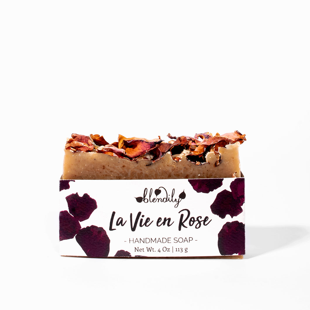 La Vie En Rose Soap Bar