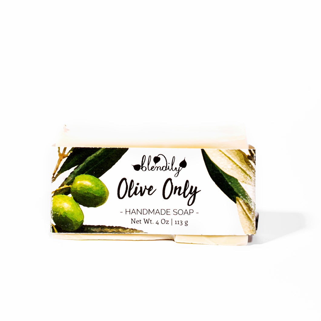 Olive Only Pure Castile Soap Bar