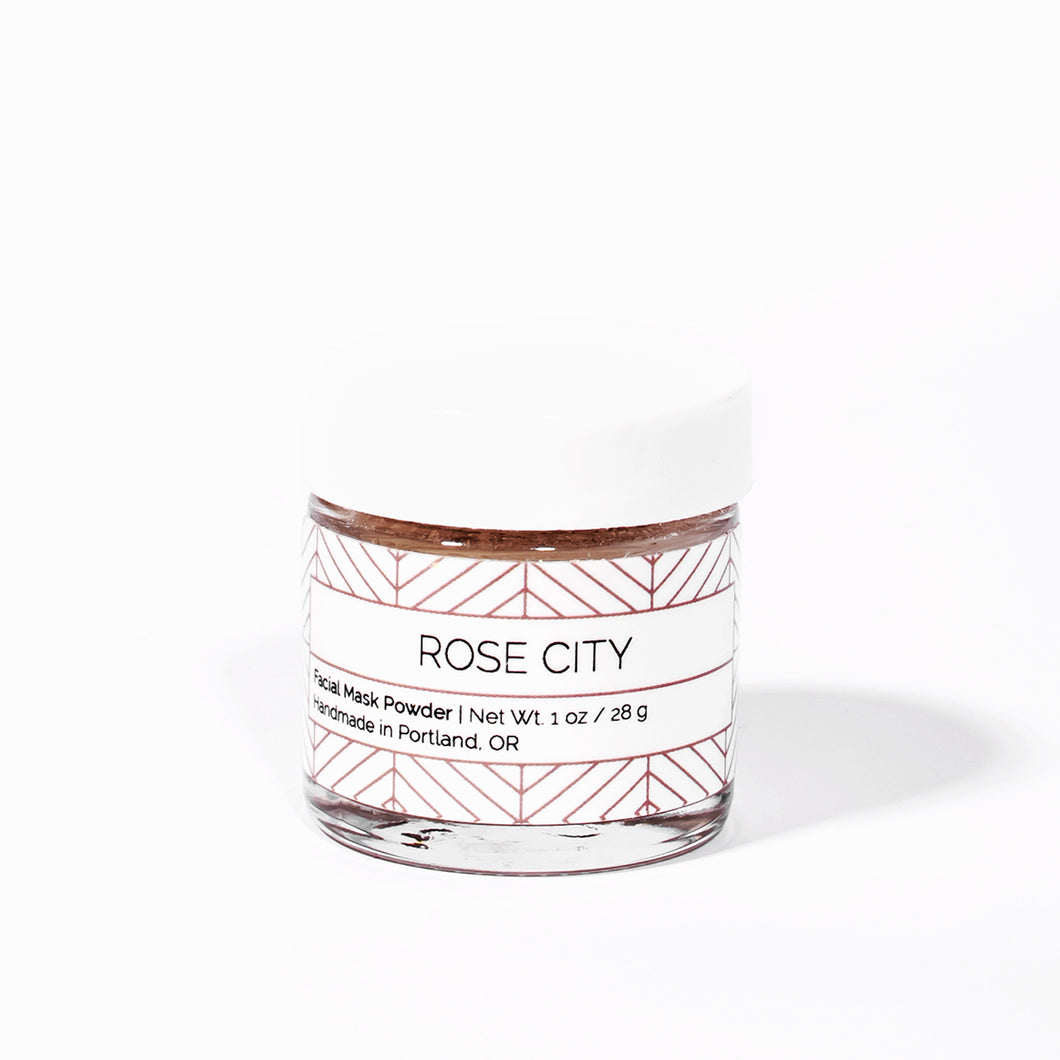 Rose City Facial Mask Powder