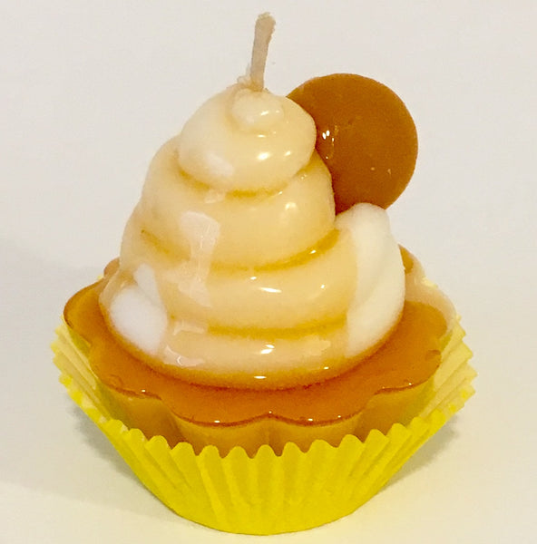 Banana Pudding Cupcake Candle SOLD OUT