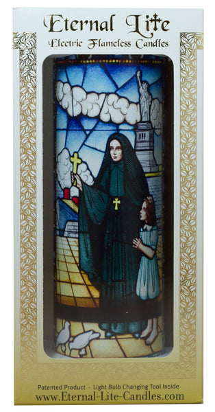 Stained Glass Mother Cabrini