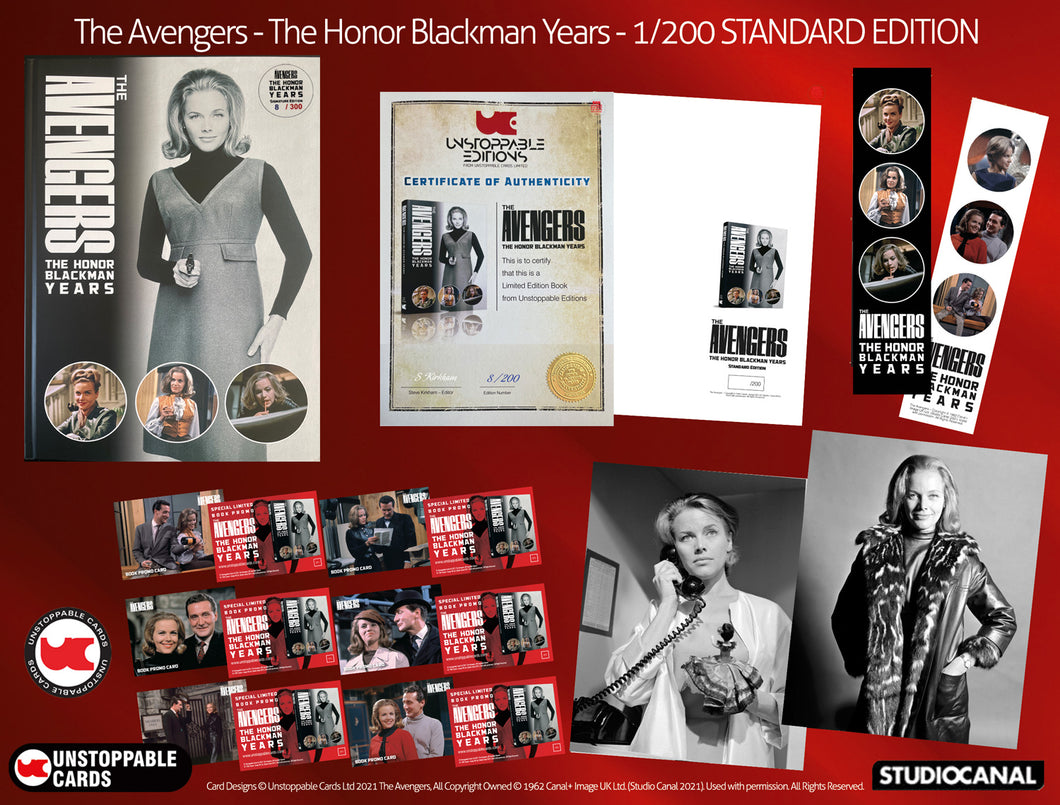 The Avengers - Honor Blackman Years Standard 1/200 Edition Book