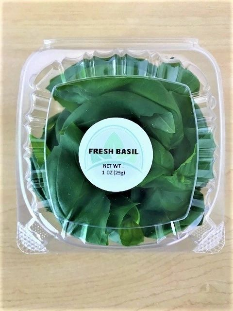 Clamshell - 1oz. fresh sweet basil