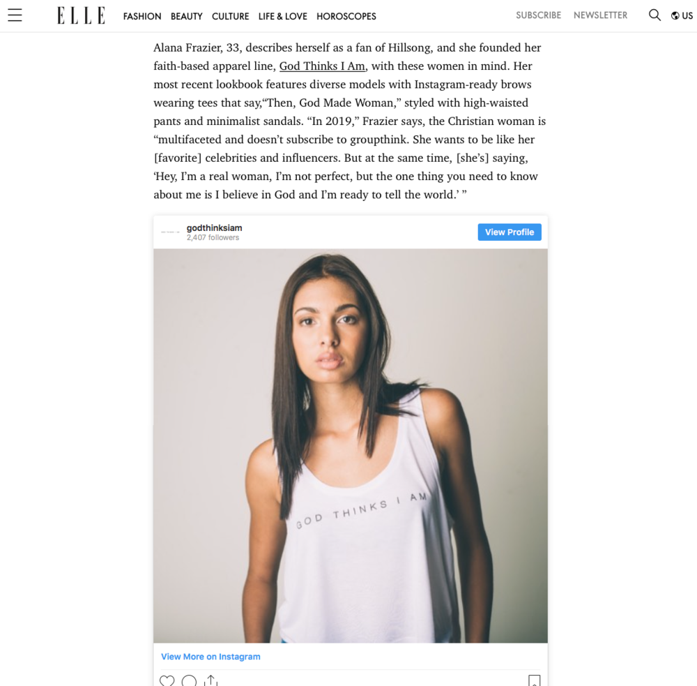 Elle Magazine_God Thinks I Am_Then God Made Woman_Alana Frazier.png