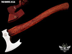 TNZ- 618 High Carbon Steel Forged Axe 18