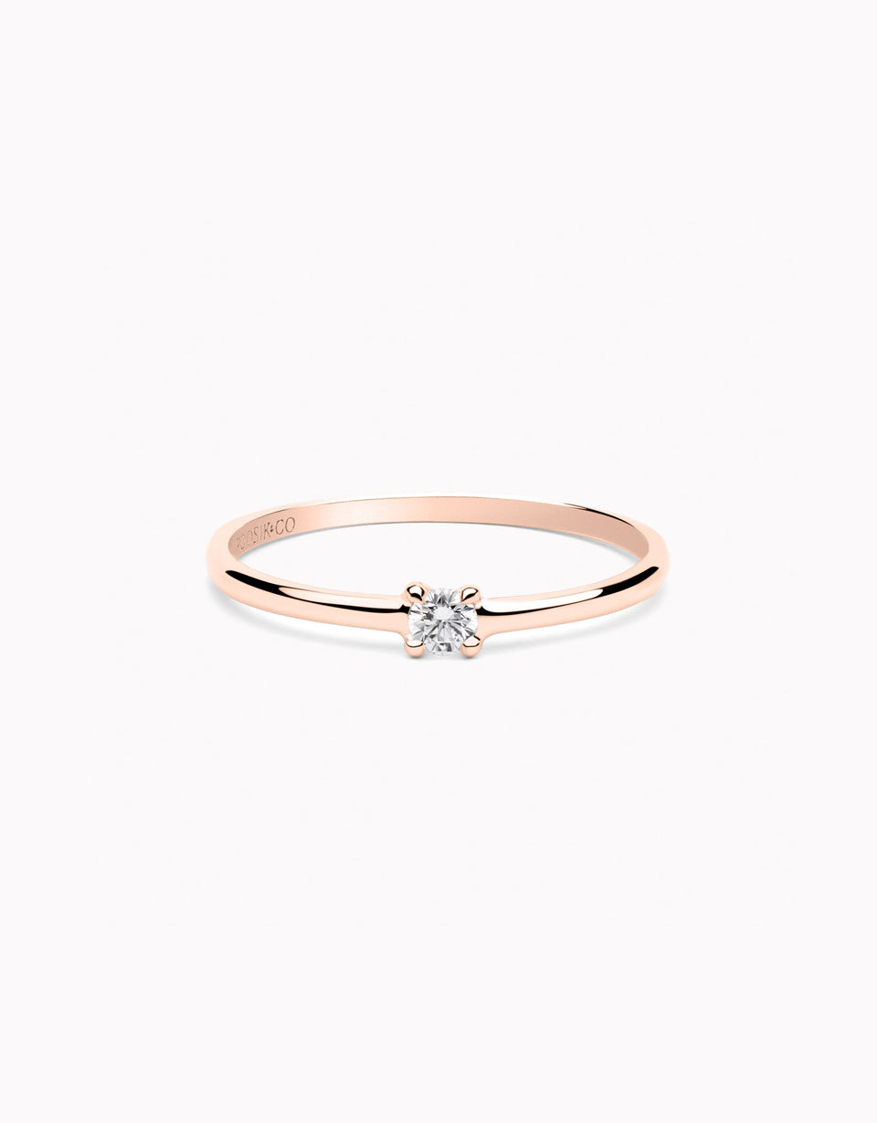 Anell Essence Rose · 0,08ct