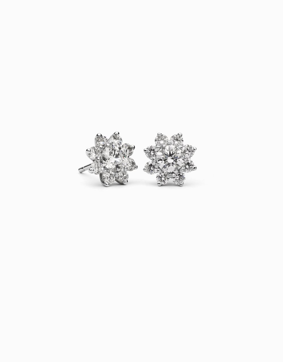 Pendientes Rose Burst · 0,80ct