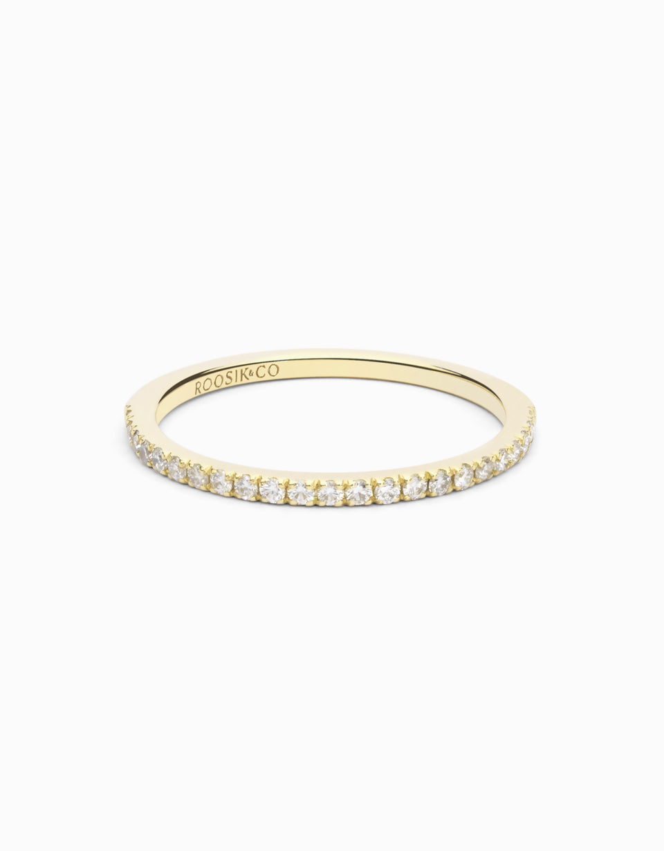 Gold Wedding Ring · 0,18ct