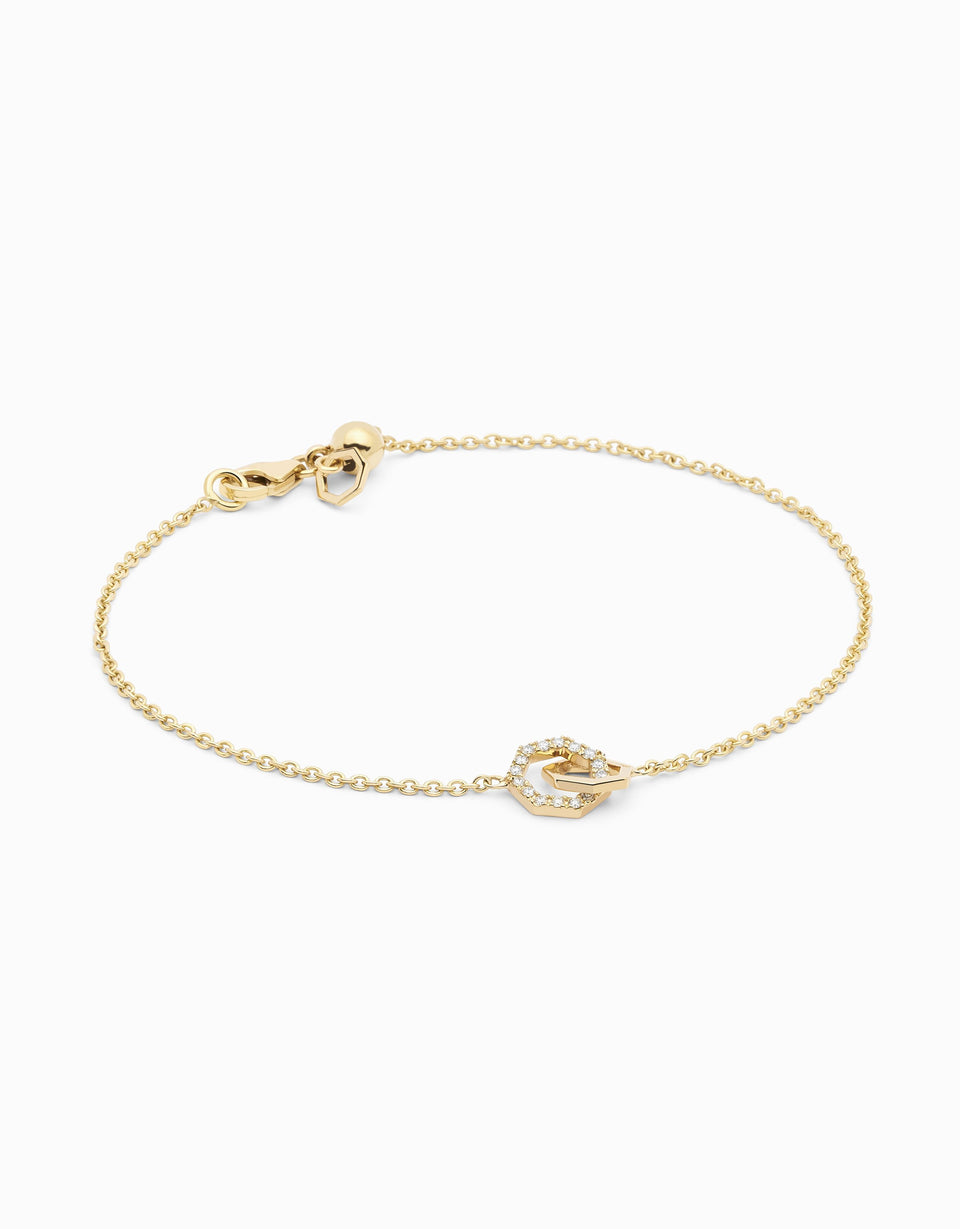 Pulsera Little String · Diamante