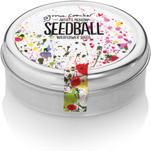 Load image into Gallery viewer, Seedball Tin Flowers