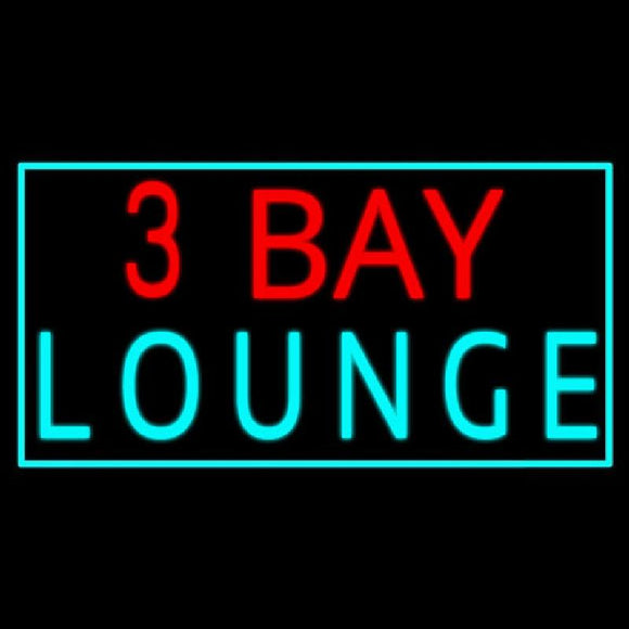 3 Bay Lounge Handmade Art Neon Sign