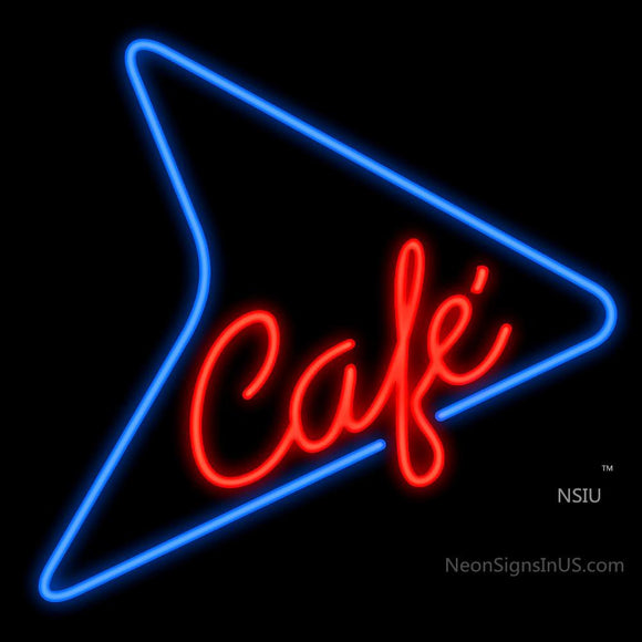 50's Style Cafe Neon Sign