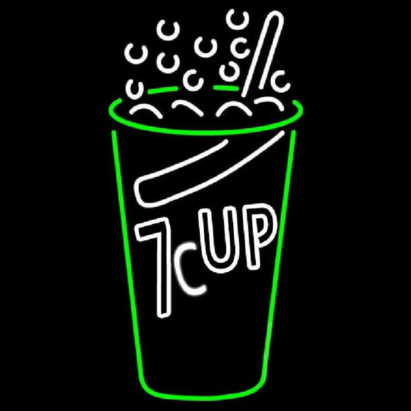 7-UP Handmade Art Neon Sign