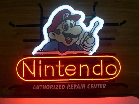 New Nintendo Neon Sign
