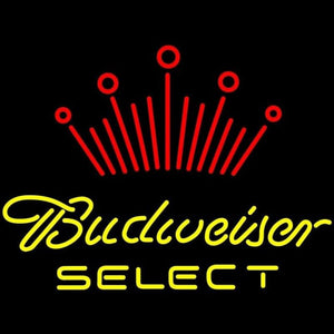 Budweiser Select Beer Sign Handmade Art Neon Sign