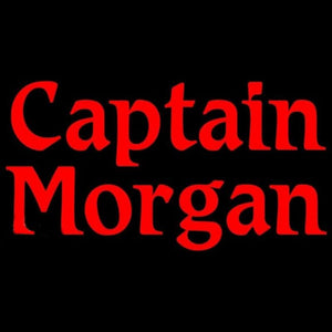 Captain Morgan Red Beer Sign Handmade Art Neon Sign