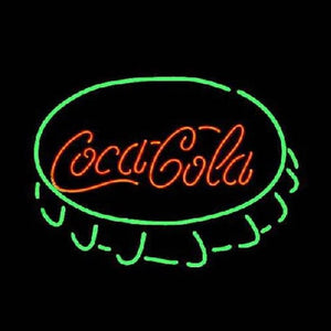 Coca Cola Cap Handmade Art Neon Sign