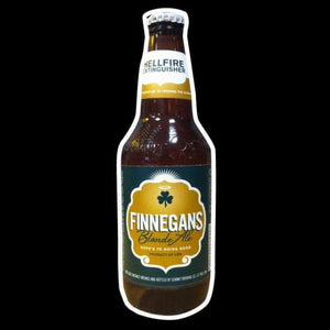 Finnegans Bottle Beer Sign Handmade Art Neon Sign