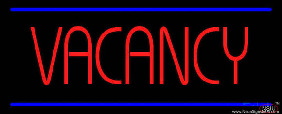 Vacancy Real Neon Glass Tube Neon Sign