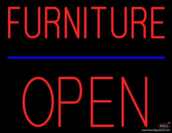 Furniture Block Open Real Neon Glass Tube Neon Sign