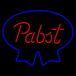 Pabst Blue Ribbon Beer Sign Handmade Art Neon Sign