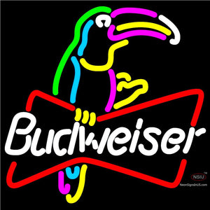 Budweiser Toucan Neon Sign