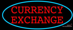 Currency Exchange Neon Sign
