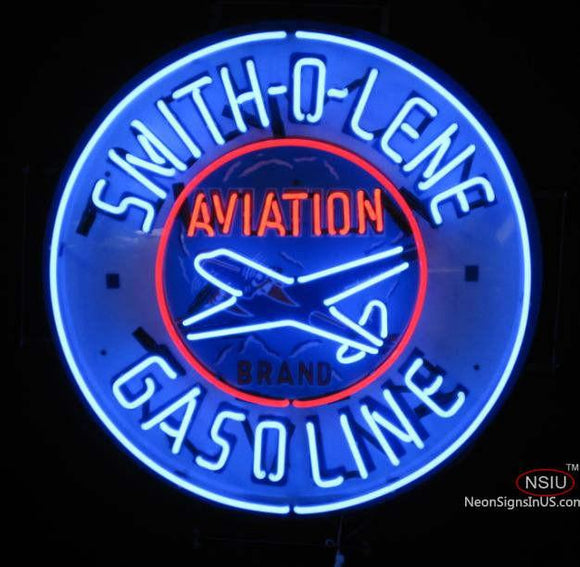 Smitholene Aviation Neon Sign