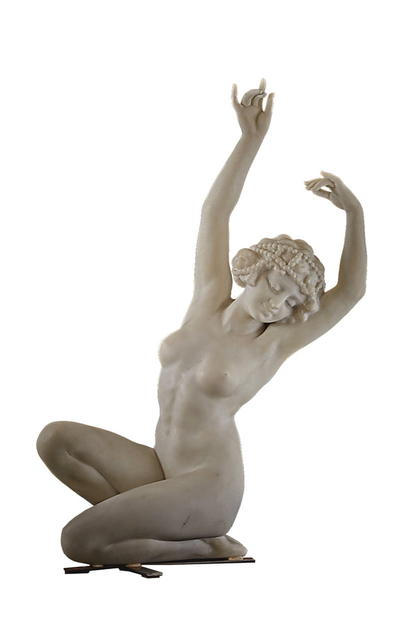 "Marble sculpture ""The Nude Dancer"""