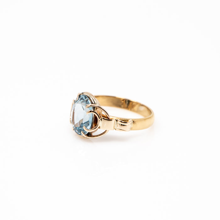 4.30ct Aquamarine Ring