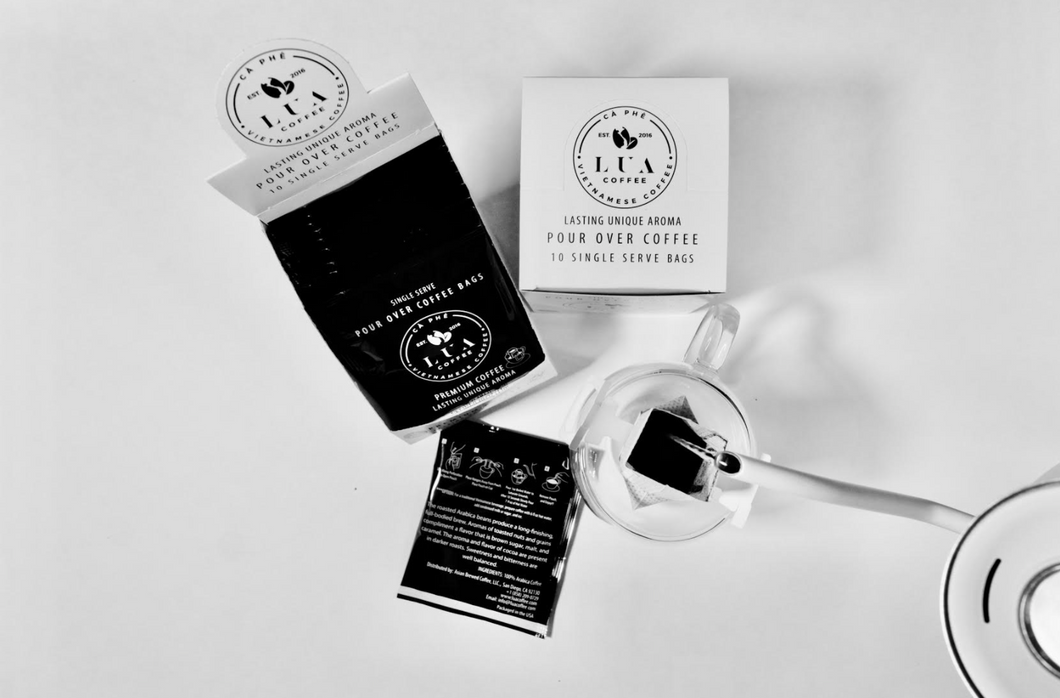 Single Serve Pour Over Coffee - 10 Pack