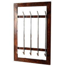 Load image into Gallery viewer, Rosewood Entryway wall coat rack