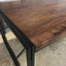 Load image into Gallery viewer, 72 Kraanti Rosewood industrial dining table
