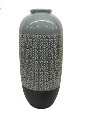 Patterned Table Vase
