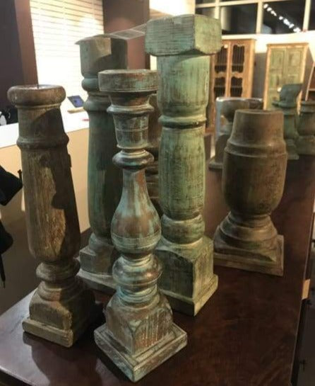 ASSORTED OLD WOOD CANDLES
