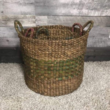 Load image into Gallery viewer, Assorted laundry waterhyacinth Baskets (set of 3) - $139.00
