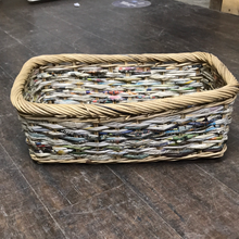 Load image into Gallery viewer, Assorted Wicker storage trays Baskets
