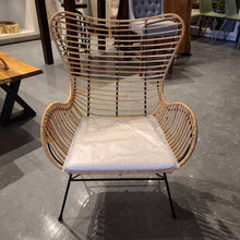 Load image into Gallery viewer, Rattan lounge chair