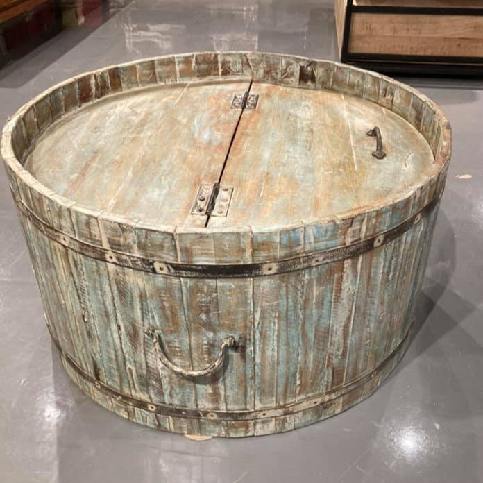 Riverside Round Barrel Coffee Table