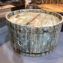 Load image into Gallery viewer, RIVERSIDE ROUND BARREL COFFEE TABLE - $549.00