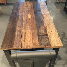 Load image into Gallery viewer, 79 inch Russet Reclaimed wood Dining Table