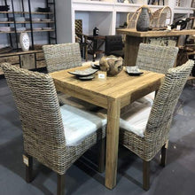 Load image into Gallery viewer, Teak outdoor dining table - $399.00