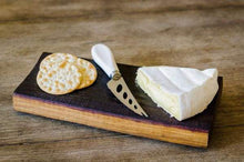 Load image into Gallery viewer, Wine Barrel Cheese board & Knife - $57.99