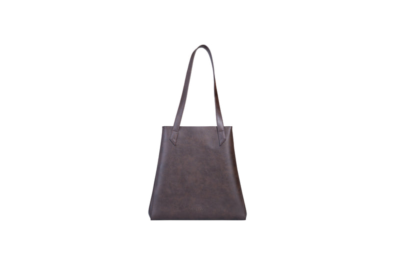 TOTISSIMO Brown - Shoulder Vegan Bag