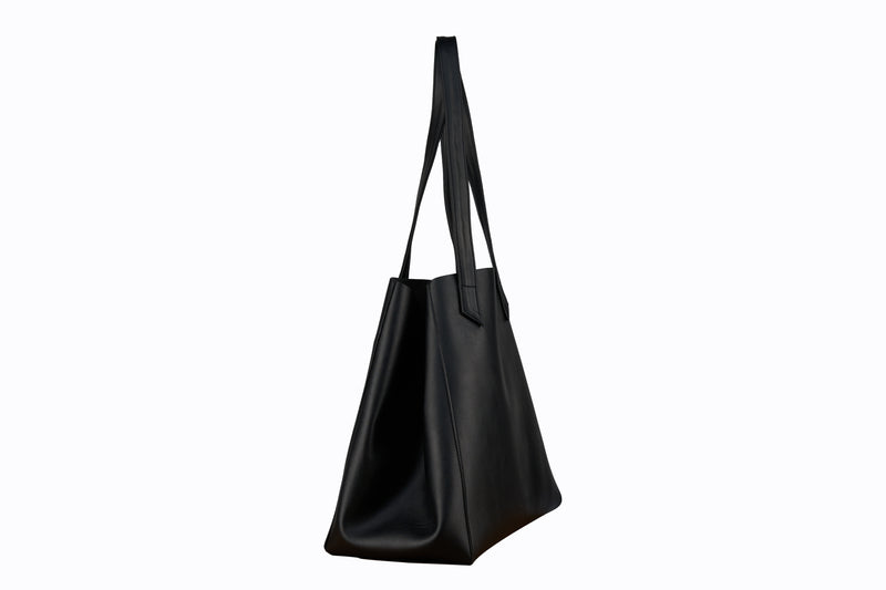 TOTISSIMO Black - Shoulder Vegan Bag