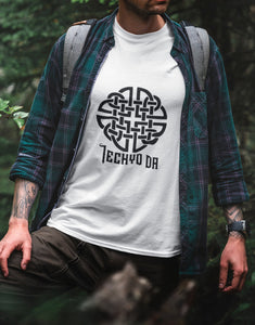 Welsh Iechyd Da Shirt Celtic Knot Wales Cheers Ancient Ancestral Language Heritage Tribal Symbol - Alba Forged
