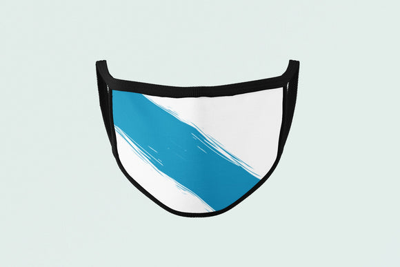 Celtic Galician Flag Mask, Galicia Face Covering, Polyester Protective Mask - Alba Forged