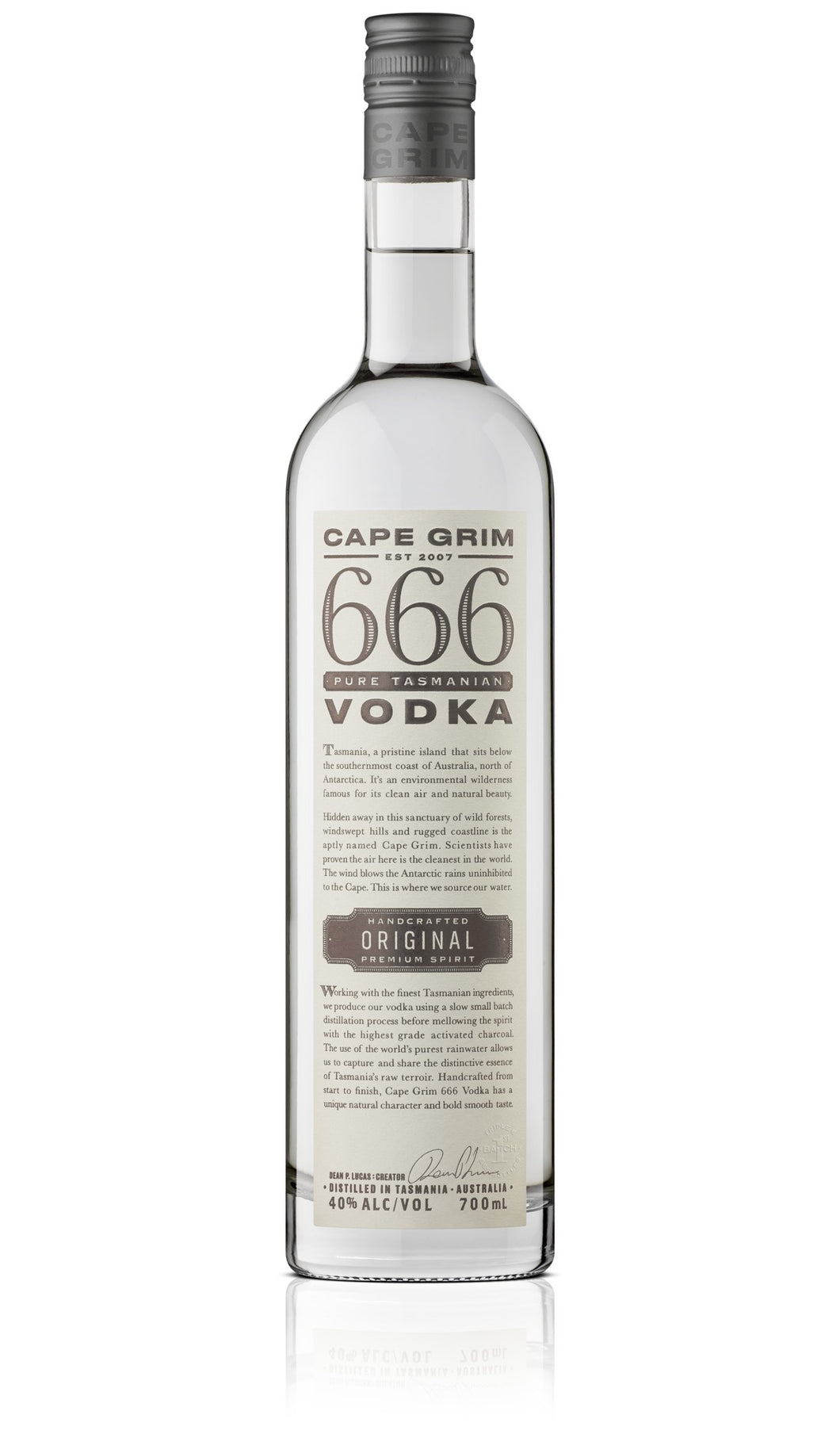 Cape Grim Original Vodka 40% 700ml