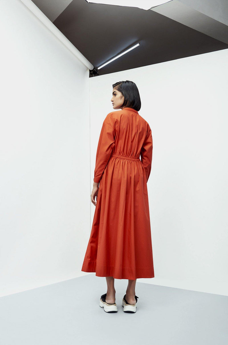 Athea Dress Orange - Notebook