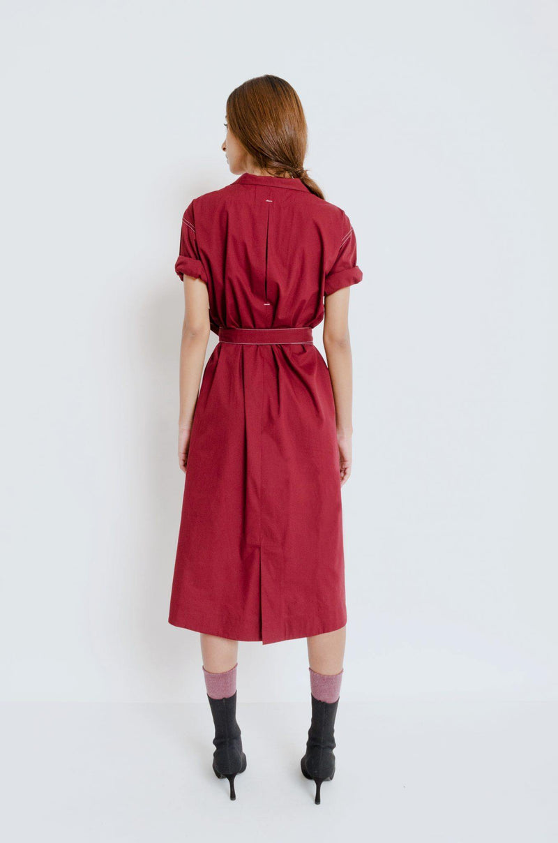 Keren Wrap Dress - Notebook